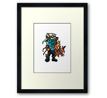 Varus The Pixel Sniper Framed Print