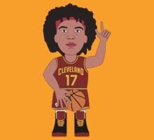 NBAToon of Anderson Varejao, player of Cleveland Cavaliers by D4RK0