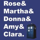 The Doctor's Companions: TARDIS by onewordprod