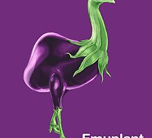 Ee - Emuplant // Half Emu, Half Eggplant by bkkbros