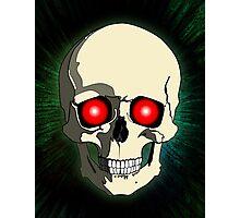 Scary Skull Photographic Print