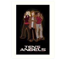 Ten's Angels Art Print