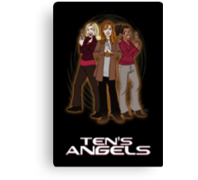 Ten's Angels Canvas Print