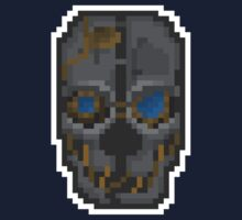 Pixel Corvo Attano's Mask - Dishonored by PixelBlock