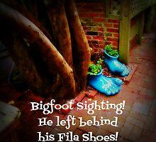 Bigfoot Sighting by raineydaze