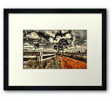 No Through Road... Framed Print