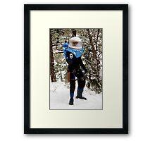 The Ice Man Cometh Framed Print