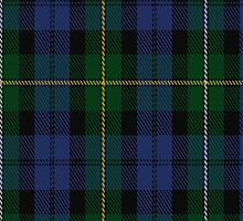 01887 Campbell of Loudoun Clan/Family Tartan Fabric Print Iphone Case by Detnecs2013