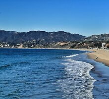 Santa Monica Bay by JimSchneider