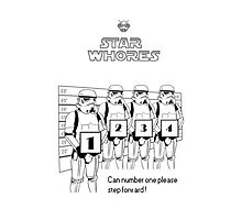 Troopers line up by starwhores