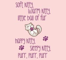The Big Bang Theory - Soft Kitty by Lunil