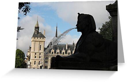 Parisian Silhouettes by Elena Skvortsova