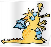 Magic Dragon :: Yellow Poster