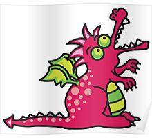 Magic Dragon :: Red Poster