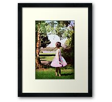 Another day in the park Framed Print