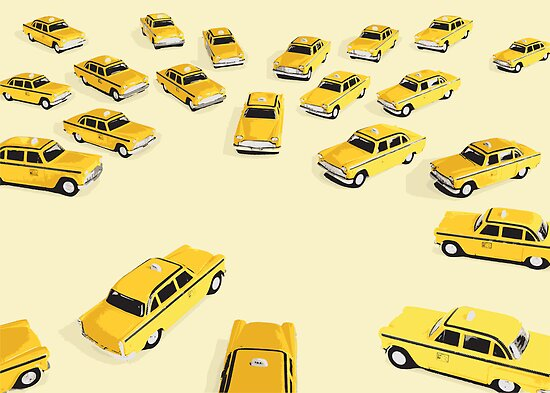 22 Yellow Taxis by levman