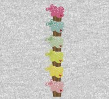 Sweet Pastel Cupcakes Kids Clothes