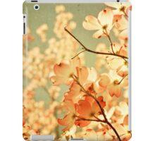 Vintage Pink Spring Flowers iPad Case/Skin