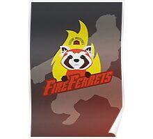 Future Industries Fire Ferrets Poster