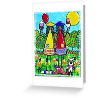 Friends - J C Red Boots Series  Greeting Card