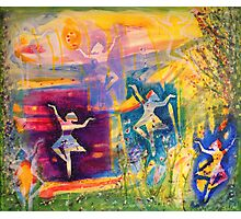 Dancing goddesses of regeneration Photographic Print
