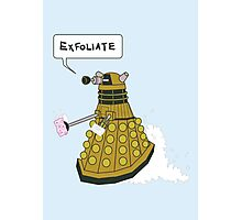 EXFOLIATE Dalek Photographic Print