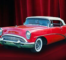 1954 Buick Skylark Convertible by DaveKoontz