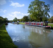 Gayton Marina Grand Union Canal by Ralph Goldsmith