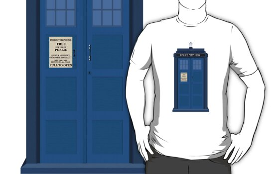 Dr Who - Tardis by Bastien13