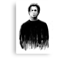 DARK COMEDIANS: Will Ferrell Canvas Print