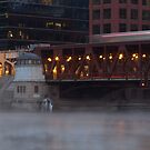 BBRRR Chicago RIver on a cold winter morning by Sven Brogren