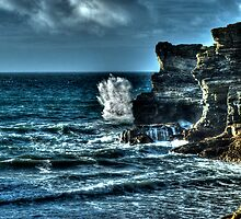 A Cornish Sea HDR by Anthony Hedger Photography
