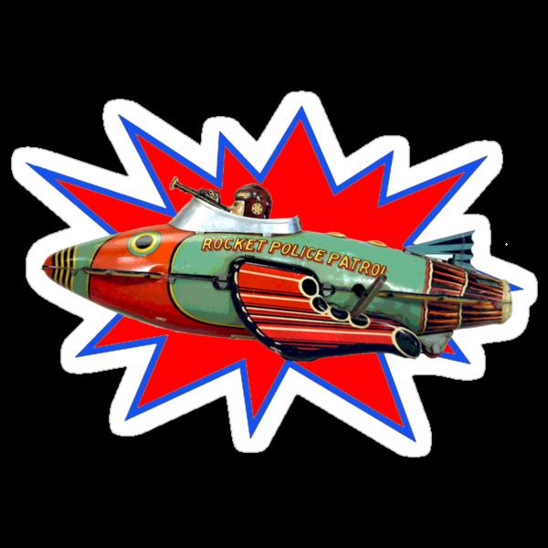 Rocket Police by sashakeen