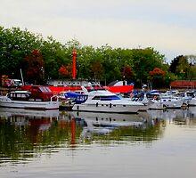 Bristol Harbor by Arvind Singh