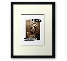 Addictive Personality Framed Print