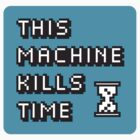 This Machine Kills Time - Laptop Sticker by T-shock
