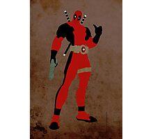 Deadpool Photographic Print