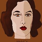 1940&#x27;s Brunette by Kate Farrant