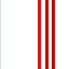 Red Stripes by CanoeComsArt