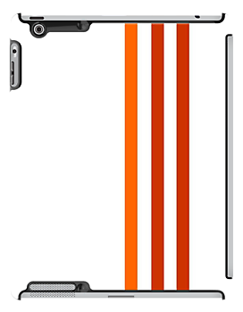 Orange Stripes by CanoeComsArt