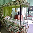 Four poster bed in Antony House by magicaltrails