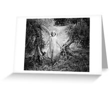 Manifesting Angel Greeting Card