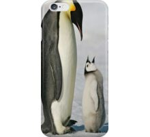 penguin; mummy I'm hungry iPhone Case/Skin