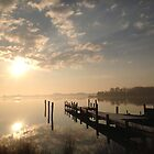 Eastern Shore February Sunrise by Lexi