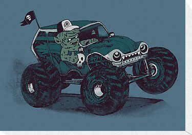 Monster Truckin' by Thomas Orrow