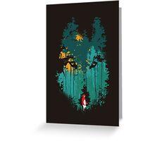 The woods belongs to me Greeting Card