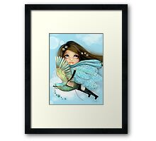 I Drank from the Clouds Framed Print