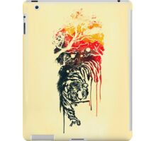 Painted watercolor tiger iPad Case/Skin