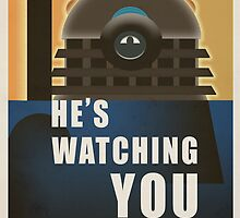 Time War Propaganda Poster  by ToneCartoons