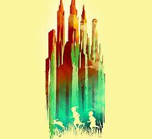 The stone castle by Budi Satria Kwan